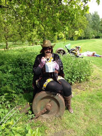 Frimley Green, UK: Mexican themed picnic...