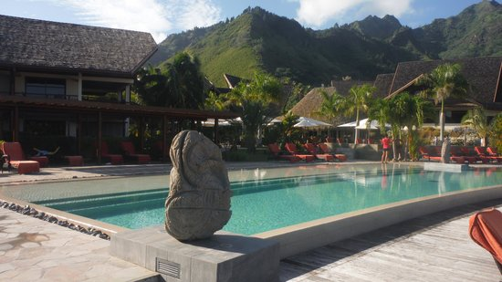 InterContinental Moorea Resort & Spa: beutiful pool area