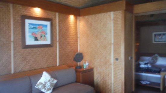 InterContinental Moorea Resort & Spa: Inside the hut