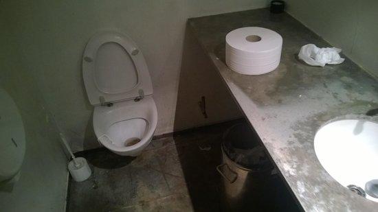 Mama Rosa : Disgusting toilet