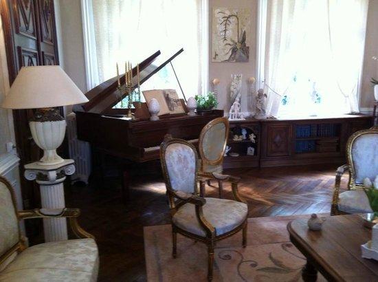 Castel des Anges : Une des salle commune