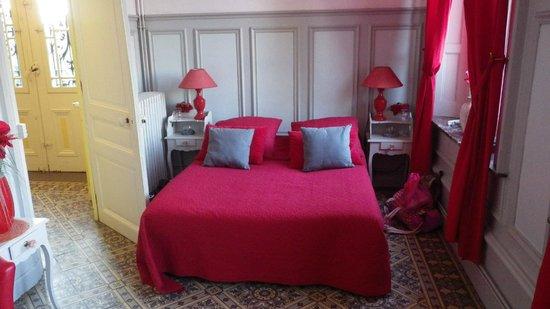 Castel des Anges : La Chambre rouge