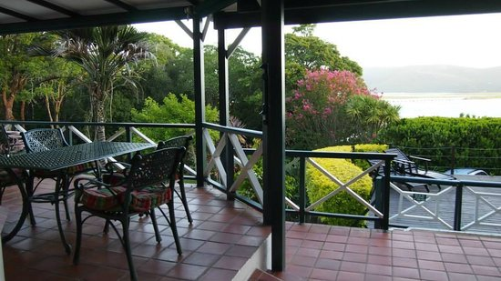 Hide Away Guest House : View from the main entrance