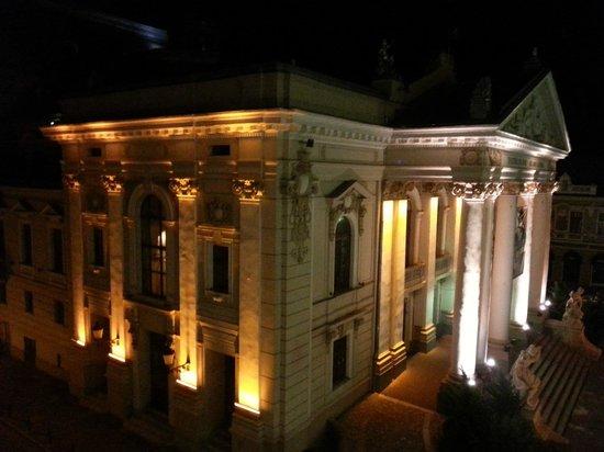 Hotel Astoria Oradea: View from room