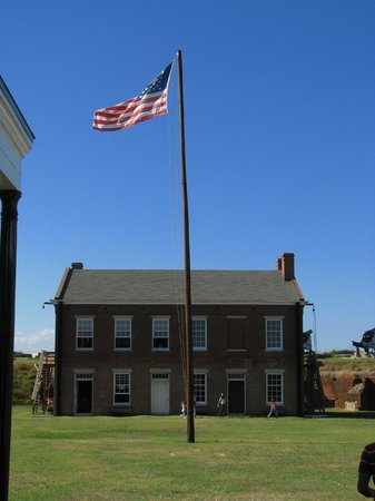 Fort Clinch State Park : Inside the fort