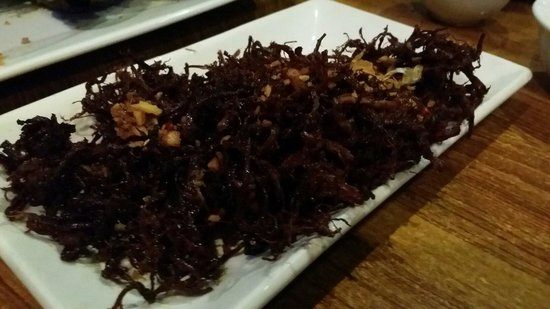Gerry's Grill : deep fried garlic with pork