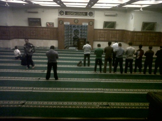 Hotel Bidakara Grand Pancoran Jakarta: Ulul Albab Mosque at basement of hotel