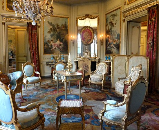 Musée Nissim de Camondo : One of the drawing rooms