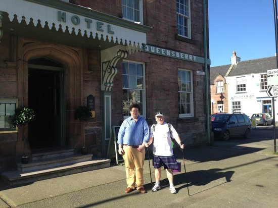 Buccleuch & Queensberry Hotel: Time to leave on the rest of my journey