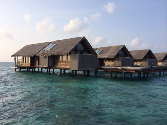 Shangri-La's Villingili Resort and Spa Maldives : Water villa's