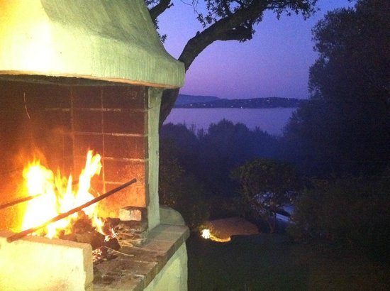 Residence U Paviddonu : le barbecue