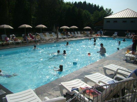 Domaine Long Pre : zwembad is heerlijk