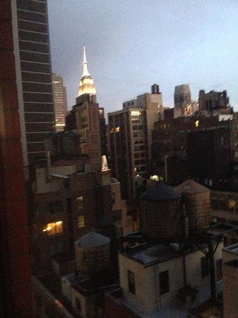 Residence Inn New York Manhattan/Times Square: the view from our room