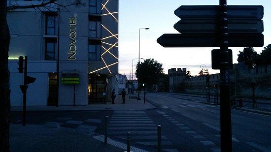 Novotel Avignon Centre : Entrada