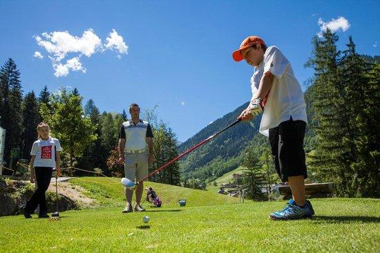 Hotel Scesaplana: Golf für Kinder