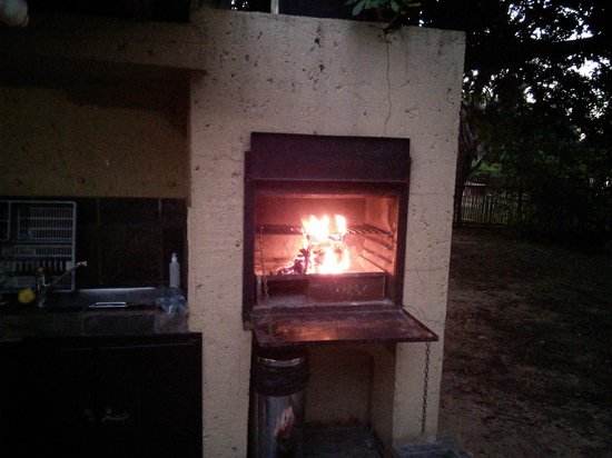 Skukuza Rest Camp : Braai on the way!
