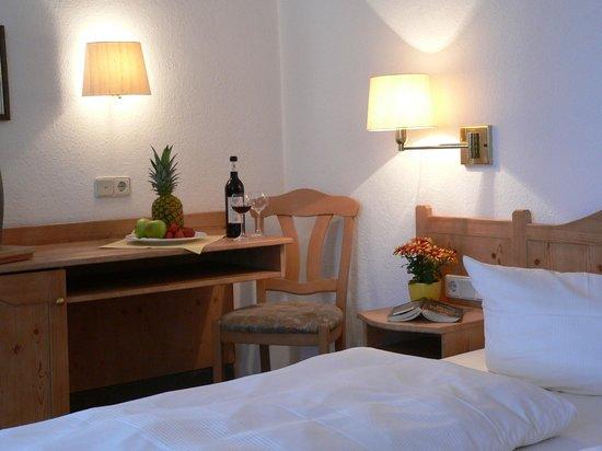 Auch mit zwei Apartments kann das Landhotel Neuses in Prichsenstadt dienen