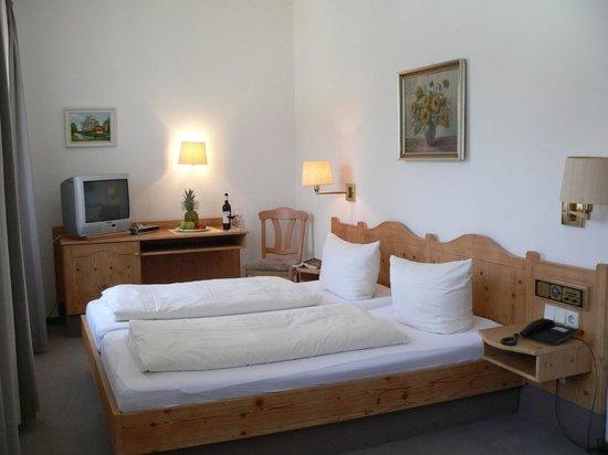 Landhotel Neuses: Die Zimmer sind gemütlich eingerichtet