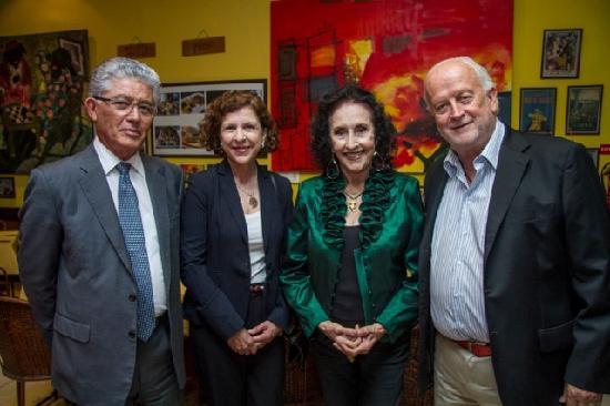 Lo Spago: Con il vicepresidente della repubblica di Costa Rica, Don AlfioPiva