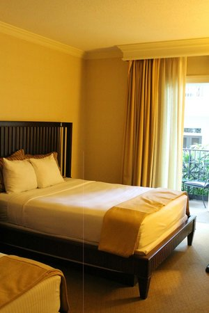 Gaylord Opryland Resort & Convention Center : the room with a small balcony