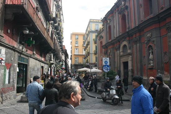 Hostel Mancini: rue de Naples