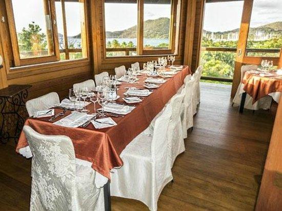 Giorgio's Wine Restaurant: Birthday Table Setting