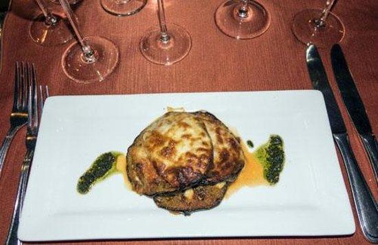 Giorgio's Wine Restaurant : Eggplant Mille Foglie