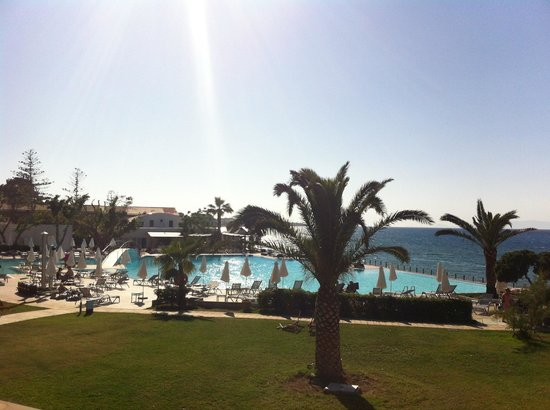 Sunprime Miramare Beach: The wiew from the hotell room/apartment