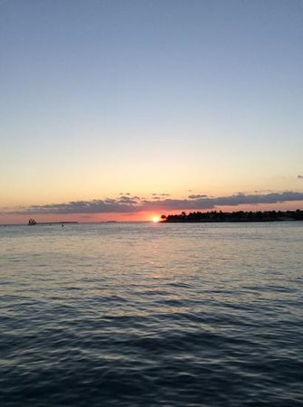 Casa Marina Key West, A Waldorf Astoria Resort: sunset in Key West