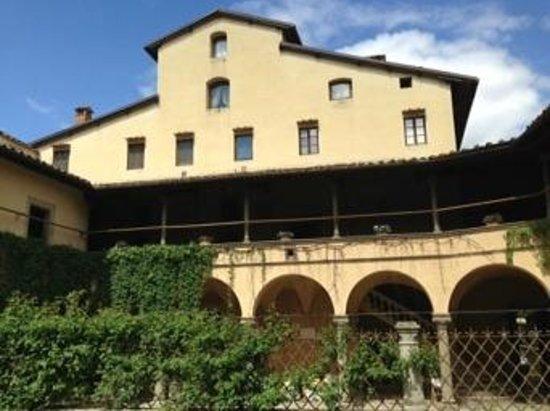 Hotel Villa Casagrande: Giardino interno