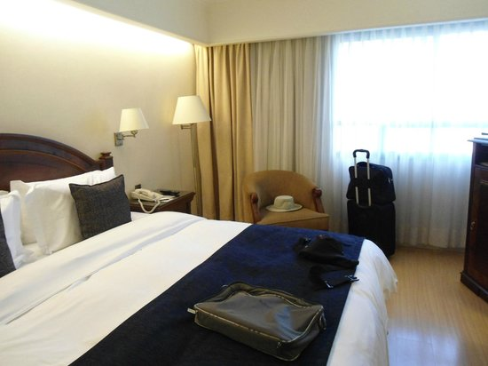 Hotel Oro Verde Guayaquil: NO tiene buena vista a la ciudad