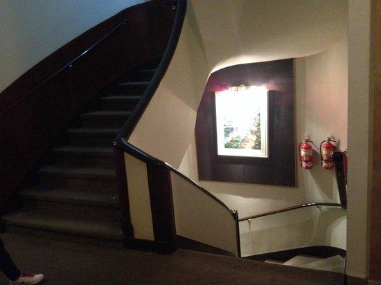 Hotel Napoleon : Ingreso a la habitacion