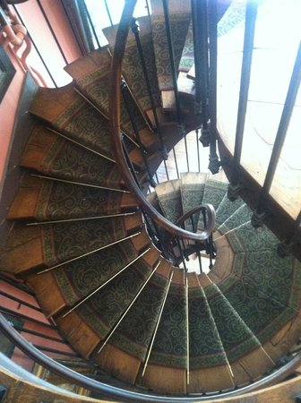 Musee Gustave Moreau: Spiral Staircase At Gustave Moreau House