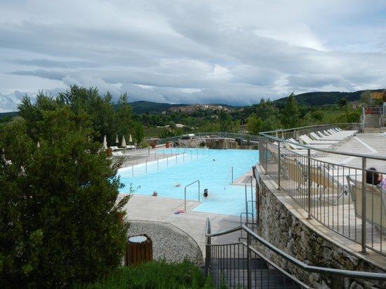 Terme di San Giovanni Rapolano : parco esterno termale