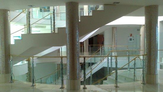 Hotel Granada Palace : Zona central de una de las plantas