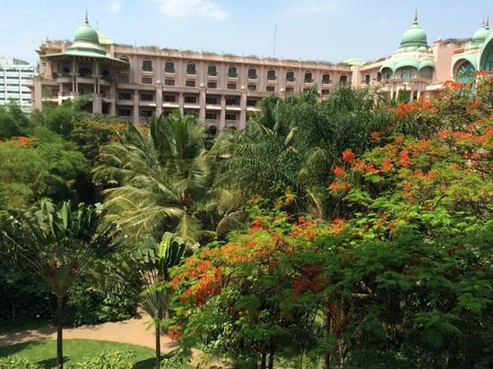 The Leela Palace Bengaluru: Balcony view