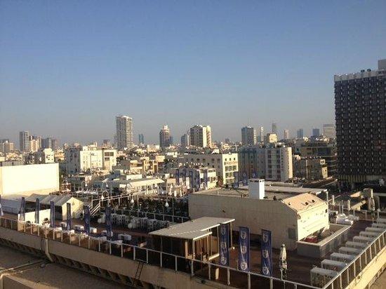 Carlton Tel Aviv: View from 11th floor - Room Partial view