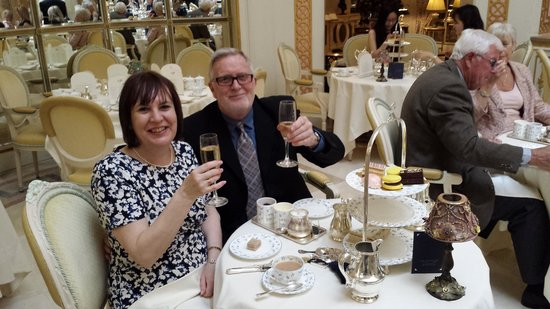 Tea at the Ritz : Cheers
