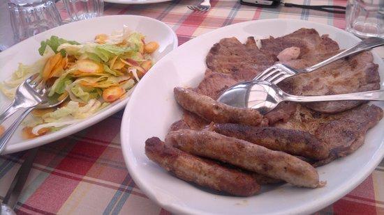 Agriturismo Le Site: arrosto di carne mista