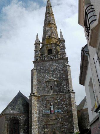 Chez Marie : belle église....