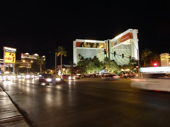 Mirage at night