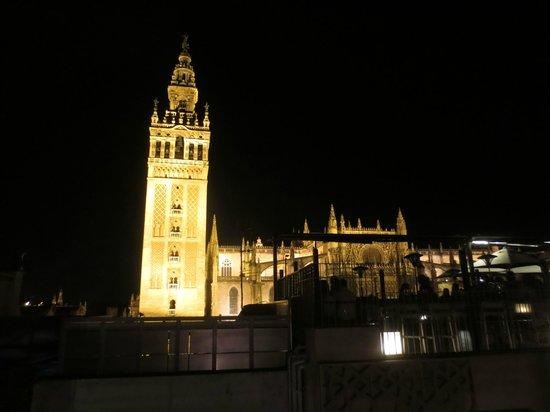 Terraza con vistas a la giralda foto di eme catedral - Terraza hotel eme ...