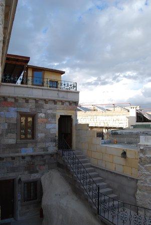 Vineyard Cave Hotel: view