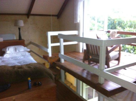 Arumvale Country House: balkon en bed boven