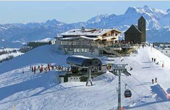 Hopfgarten im Brixental, Austria: Hohe Salve im Winter