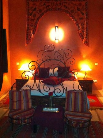 Riad Les Trois Mages: Bedroom
