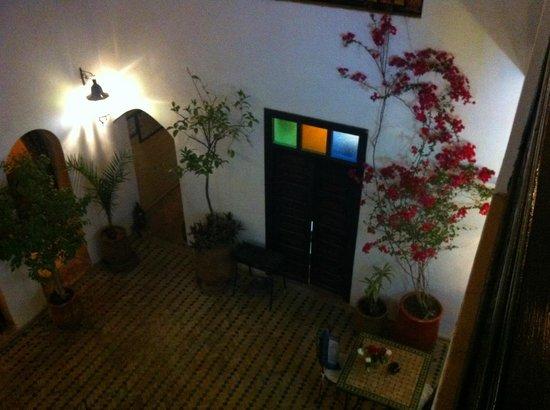 Riad Les Trois Mages : Atrium