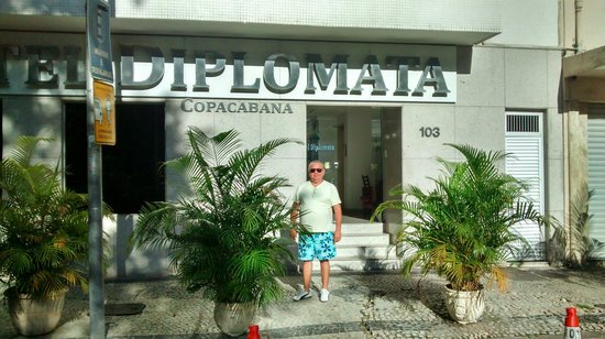 Hotel Diplomata Copacabana: Fachada Hotel