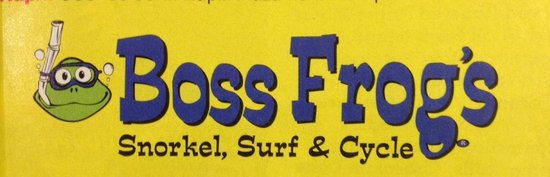 Boss Frog's Dive and Surf - Lahaina : Boss Frog's