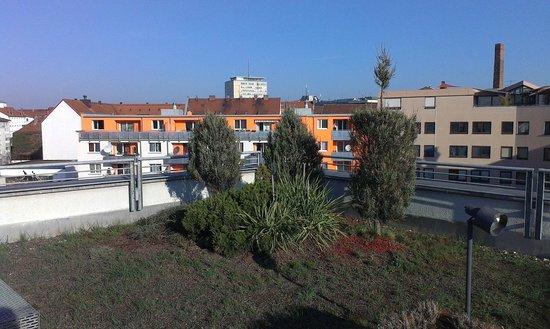 Leonardo Hotel Nürnberg: Вид с терассы
